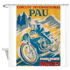 Circuit International, Pau, Vintage Poster Shower