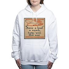 Save Bread Women's Hooded Sweatshirt