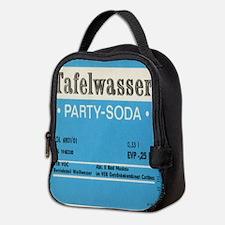 East German Table Water Neoprene Lunch Bag