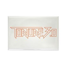 torture 3.0 orange outl Rectangle Magnet (10 pack)