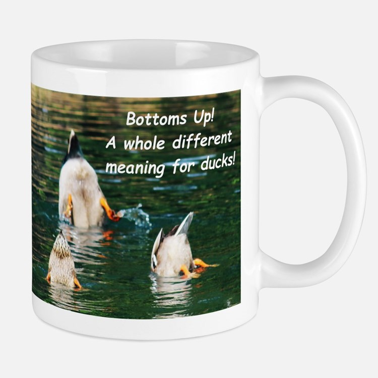 Bottoms Up! Mugs