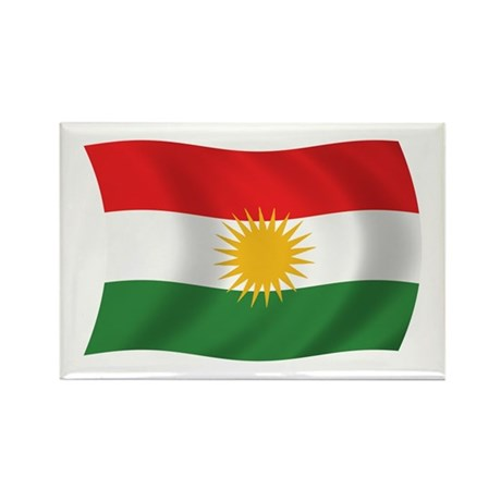 Kurdistan Flag Rectangle Magnet (100 pack)
