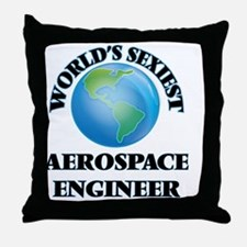 World's Sexiest Aerospace Engineer Throw Pillow