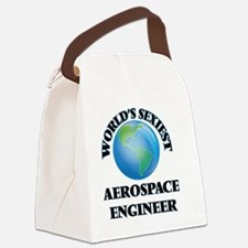 World's Sexiest Aerospace Enginee Canvas Lunch Bag