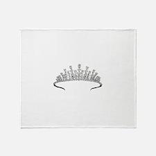tiara Throw Blanket