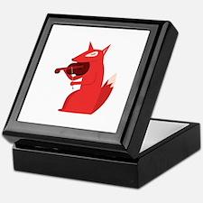 Music Fox Keepsake Box