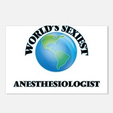 World's Sexiest Anesthesi Postcards (Package of 8)