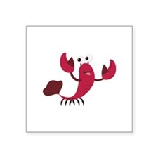 Cartoon Lobster Sticker