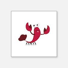 Cartoon Lobster Sticker
