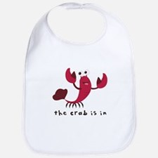 Crab Is In Bib