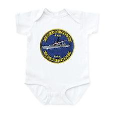 USS LUCE Infant Bodysuit