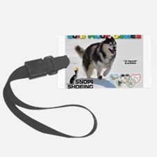 Snow-Shoeing WOOF Games 2014 Luggage Tag