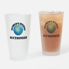 World's Sexiest Auctioneer Drinking Glass