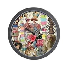 Ladies' Tea Wall Clock