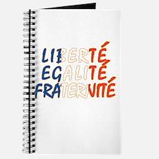 Liberte Egalite Fraternite Journal