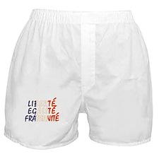 Liberte Egalite Fraternite Boxer Shorts