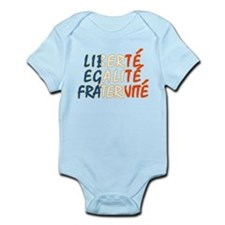 Liberte Egalite Fraternite Infant Bodysuit