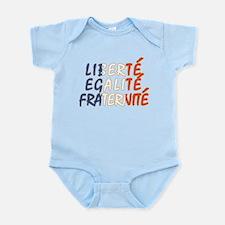 Liberte Egalite Fraternite Infant Bodysuit