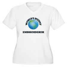 World's Sexiest Embroiderer Plus Size T-Shirt
