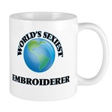 World's Sexiest Embroiderer Mugs