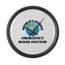 World's Sexiest Emergency Room Do Large Wall Clock