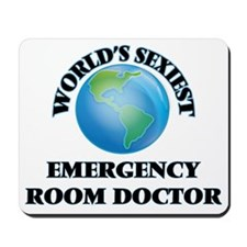 World's Sexiest Emergency Room Doctor Mousepad