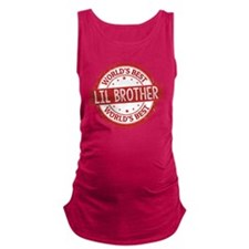 Cute Little brother Maternity Tank Top