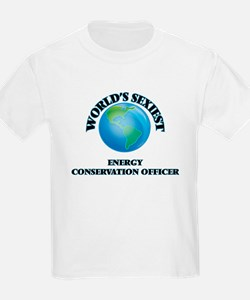 World's Sexiest Energy Conservation Office T-Shirt