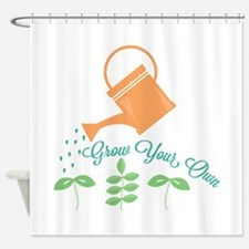 Grow Your Own Shower Curtain