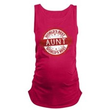 Cute Love my auntie Maternity Tank Top