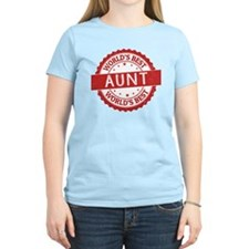 Funny Worlds greatest aunt T-Shirt