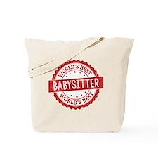 Cute Best babysitter Tote Bag