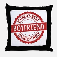 Unique Boyfriend Throw Pillow