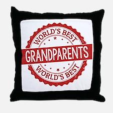 Cute Grandparents Throw Pillow