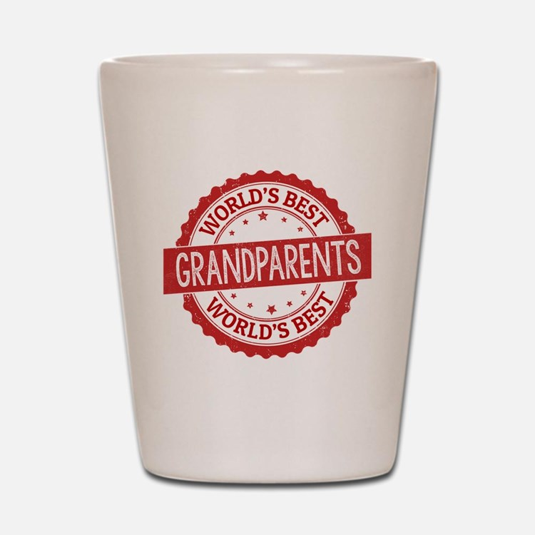 Cute Grandparent Shot Glass