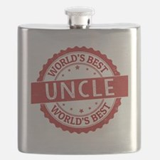 Unique Best uncle Flask