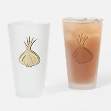 Garlic Bulb Drinking Glass