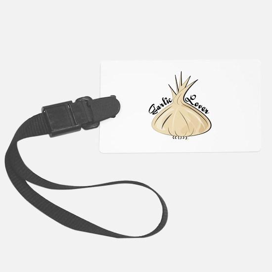 Garlic Lover Luggage Tag