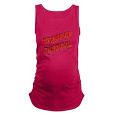 Spawn of the Devil Maternity Tank Top