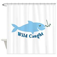 Wild Caught Shower Curtain