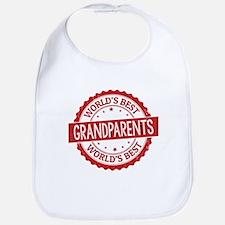 World's Best Grandparents Bib