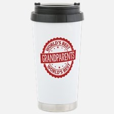 World's Best Grandparen Stainless Steel Travel Mug