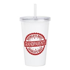 World's Best Grandpare Acrylic Double-wall Tumbler