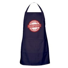 World's Best Grandparents Apron (dark)