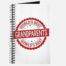 World's Best Grandparents Journal