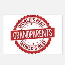 World's Best Grandparents Postcards (Package of 8)