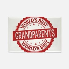 World's Best Grandparents Magnets