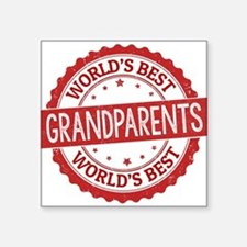 World's Best Grandparents Sticker