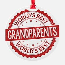 World's Best Grandparents Ornament