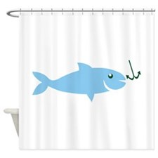 Hook The Crook Shower Curtain